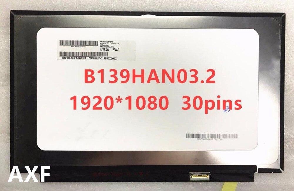 FOR Lenovo YOGA 910 13IKB LCD screen display screen B139HAN03.2 1920 * 1080 30PINS Free Shipping tought screen lenovo s820