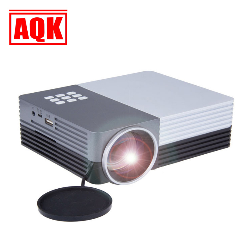 Free shipping Big Discount Newest 2015 LED Mini Video LCD 1080P 3D Home Theater Projector Full HD  Beamer Projetor russia brazil