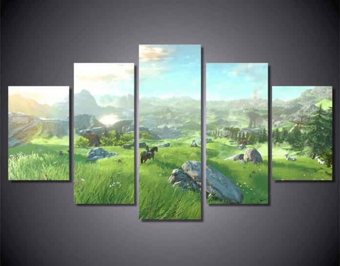 diamant peinture custom diamond painting eigen foto The Legend of Zelda full square christmas cards goang