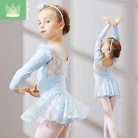 Ballet Tutu Kids Ballet Lace Costume Girls Dance Leotard Tutu Skirt Child Dancing Wear Kids Dance Costume Dress Dancewear B 4654