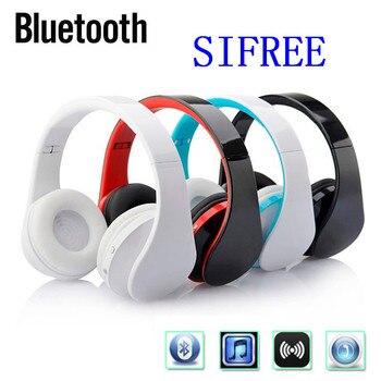 SIFREE foldable bluetooth headphones BT4.1 Stereo bluetooth headset wireless headphones for phones music earphone earpiece
