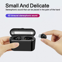 X8 TWS True Bluetooth Earphone 5D Stereo Wireless Earbuds Mini TWS Waterproof Headfrees with Charging Box 2200mAh Power Bank