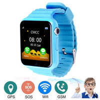 Watch With Gps Child V7 Smart Watch Emergency Security Anti Lost SOS For ISO Android waterproof Kids Baby Watches for Students