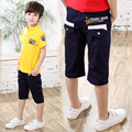 2017 summer children causal shorts Kids new high quality fashion embroidery letters shorts for boys 4-9 years !
