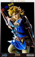 "10"" First 4 Figures The Zelda: Breath of the Wild LINK statue"