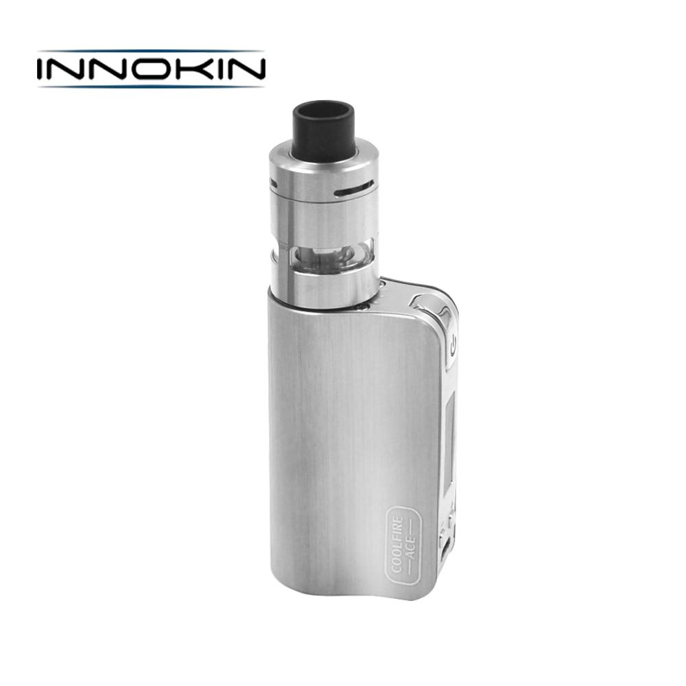 цена на Electronic Cigarette Innokin CoolFire ACE Vape Kit with 1300mAh Battery 40W Coolfire ACE Box Mod 2ml Slipstream Atomizer