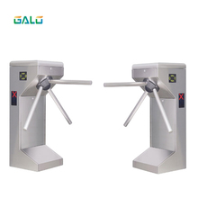 304 stainless steel vertical Security access control tripod turnstile 304 stainless steel semi automatic tripod turnstile