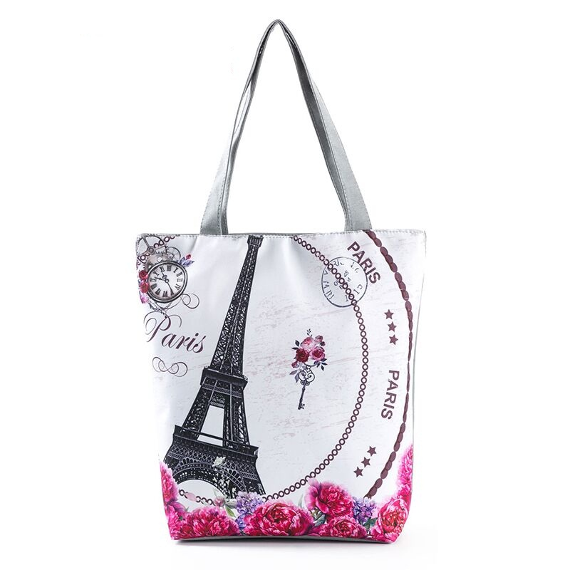 Womens Wallets Paris Eiffel Tower Red Umbrella Cityscape Leather Passport Wallet Change Purse Zip Handbags