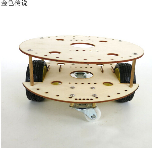 JMT Chassis for R3W4 Robot DIY Remote Control Car Upgraded Frame ...