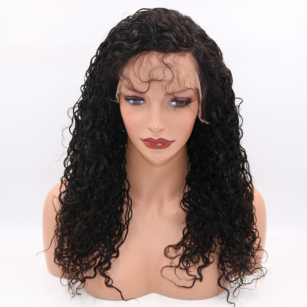 Eversilky 130% To 180% Density Pre Plucked 360 Lace Frontal Wigs Water Wave Brazilian Lace Front Human Hair Wigs With Baby Hair
