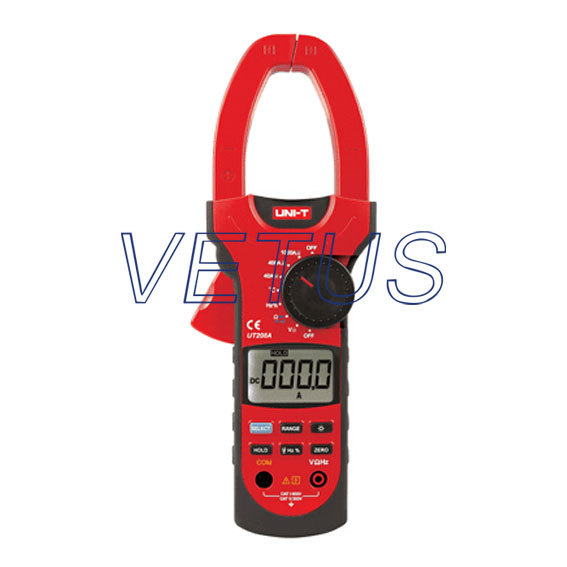 high precision Digital Clamp meter UNI-T UT208A AC DC Voltage Ampere Ohm Tester dc ac clamp leaker meter sensitivity leakage current tester ammeter ampere analog meter amperimetro amperemeter uni t ut258a