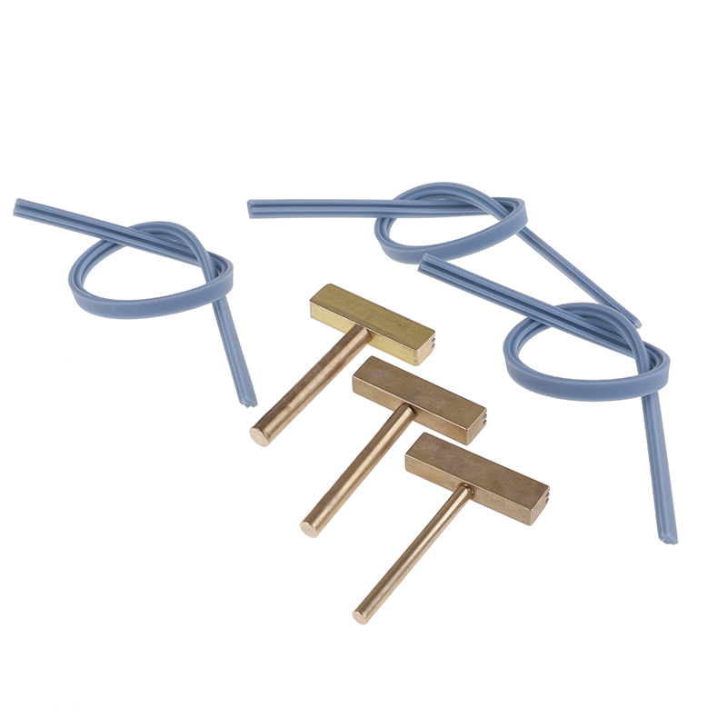 1Set 30/40/60W Soldering Iron T Tip T-head,Copper T-Tips + Rubber Cable Hot Press For LCD Screen Pixel Flex Cable Repair