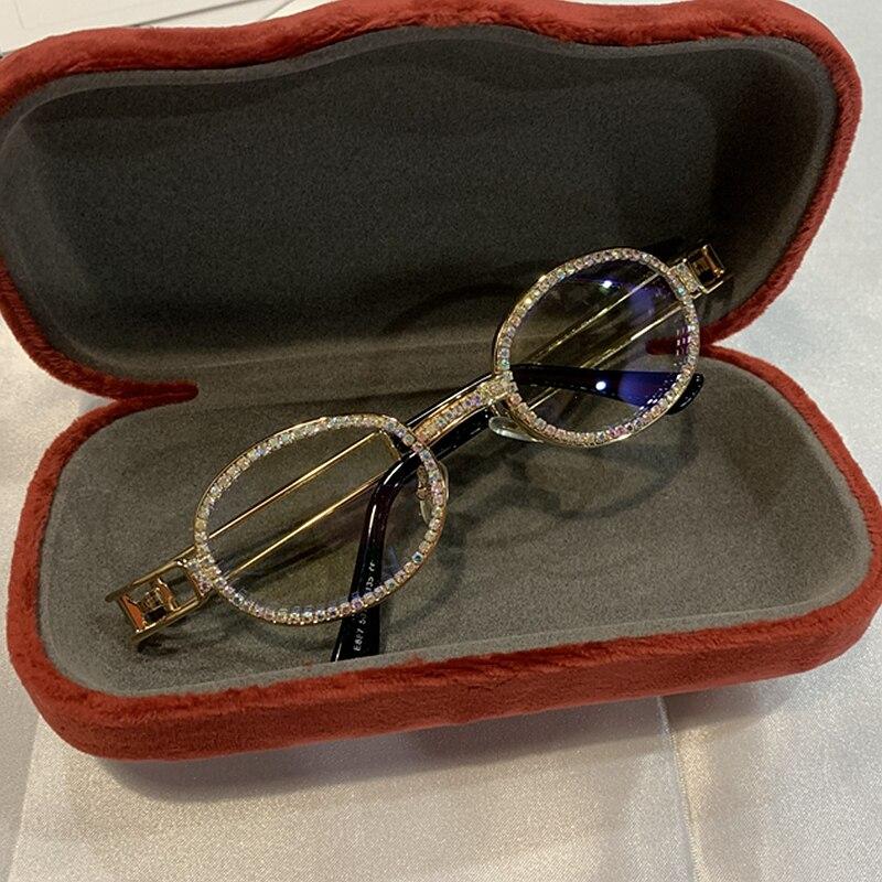 7a8de141c 2019 بلو راي Pretection ريترو جولة النظارات الشمسية النساء Steampunk ...