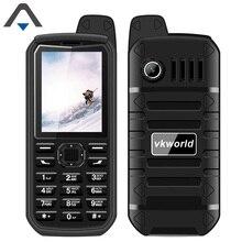 Оригинальный vkworld V3 плюс бар сотовом телефоне 2.4 дюймов один core 32 м + 32 м 4000 мАч долгого ожидания Dual SIM карт карман для мобильного телефона