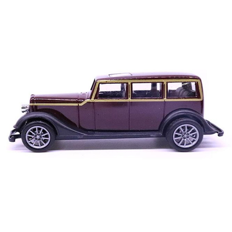 1/43 Scale 10.5CM Purple Color Vehicles Car Toy Car Metal Alloy Pull Back Diecast Classical Model Children Kids Collection Toys