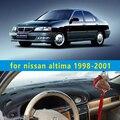 Dashmats car-styling accesorios del coche del tablero de instrumentos cubierta para nissan altima 1998 1999 2000 2001