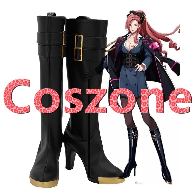 Division Rap Battle Hypnosis Mic DRB Hypnosis Microphone Ichijiku Kadenokoji Cosplay Shoes Boots Halloween Costume Accessories