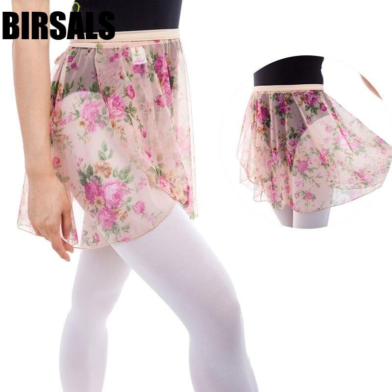Adult Flower Printing Ballet Wrap Skirt CF7508 Women