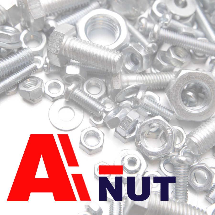 m4 m5 m6 m8 m10 flat thumb screws ,white zinc plating racket thumb bolt
