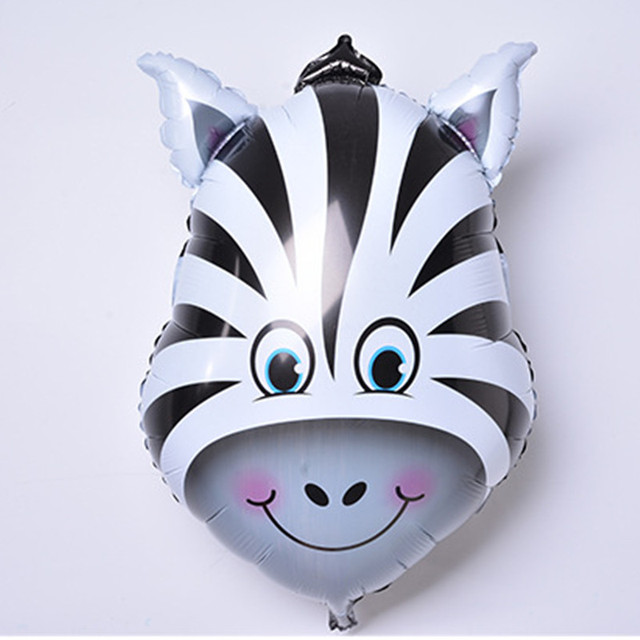6 Pcs Cute Animals Balloons