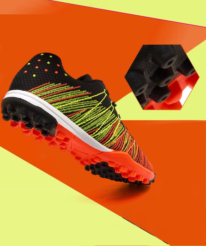 Mesh Soccer Shoes Football Boots Kids Boys Girl Flexible Flying Breathable New superfly botas de fuetbol Cleats voetbalschoenen  16