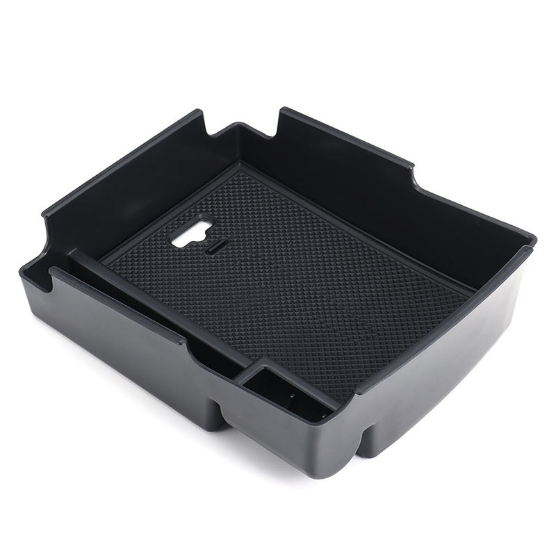 Car Interior Storage Box Center Glove Box Armrest Multifunctional Stowing Box For Hyundai Elantra 2016 2017 Plastic Black genuine honda 77501 sh3 a01zf glove box