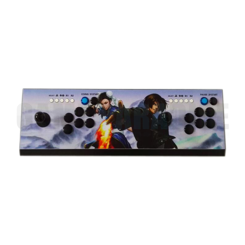 double arcade  game controller  3D pandora 2200 games in 1 with pause turbo function VGA HDMI output