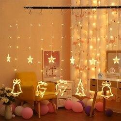Fairy Garland ไฟ LED String คริสต์มาส Deer Shape String สำหรับตกแต่งคริสต์มาสปาร์ตี้งานแต่งงานกลางแจ้ง