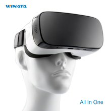 3D VRความจริงเสมือนทั้งหมดในหนึ่งVRชุดหูฟัง1920*1080จุดAndroid 5.1 hdmi 2.0กับ3dไฮไฟgoogleเล่น/youtube app