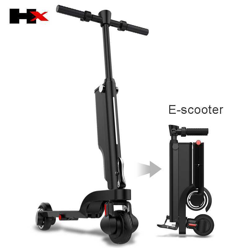 HX E-<font><b>scooter</b></font> Smart <font><b>Electric</b></font> Foldable <font><b>Scooter</b></font> 2 Wheels Hoverboard Oxboard Hover board <font><b>250W</b></font> Skateboard Adults <font><b>electric</b></font> <font><b>scooters</b></font> image