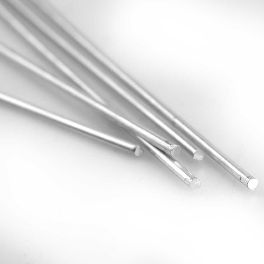 10 PCS Lage Temperatuur Aluminium Lasdraad Gevulde 3.2mm * 230mm Al-Mg Solderen Staaf Geen nodig Soldeer Poeder