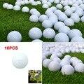 Новинка  10 шт.  мячи для гольфа  для занятий спортом на открытом воздухе  белый пенополиуретан  мячи для гольфа  для использования в помещении...