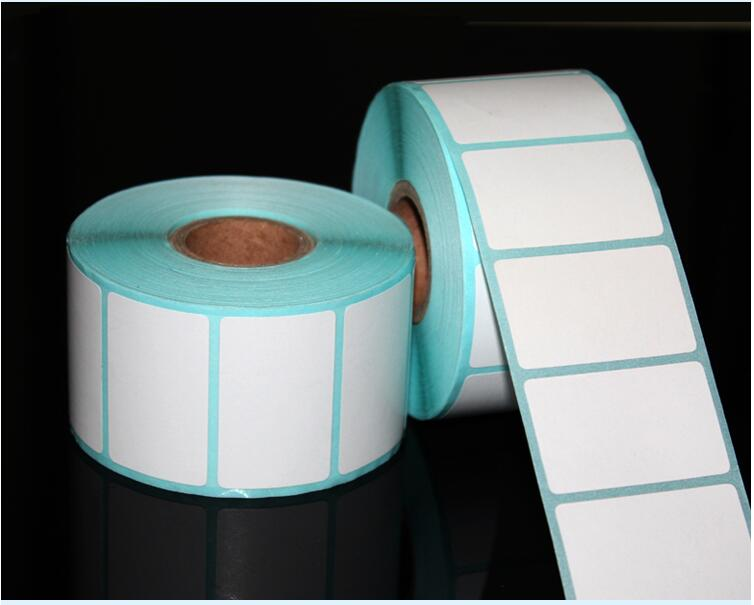 700pcs/Roll 20*10mm Adhesive Thermal Label Sticker Paper Supermarket Price Blank Label Direct Print Waterproof