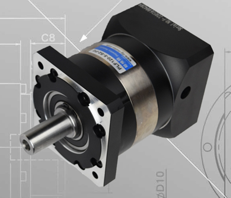 PLF120-L1 130mm planetary gear reducer ratio 3:1 to 10:1 for 130mm AC servo motor shaft 22mm цена