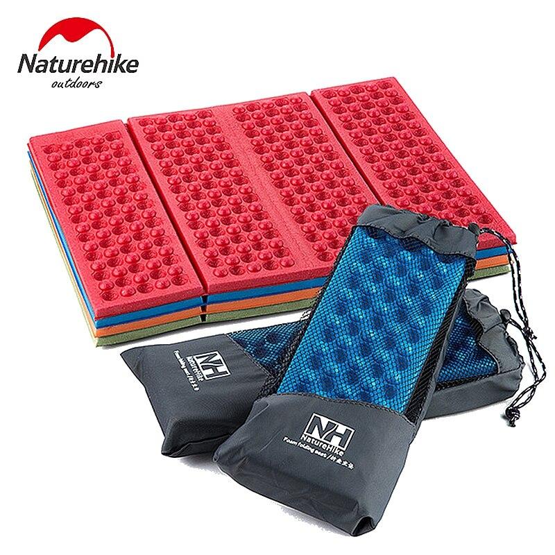 Naturehike Camping Mat Seat Foam Inflatable Mats Folding Portable Outdoor Beach Moistureproof Mattress Pad Egg Slot