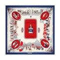 [Lesida] luxo grande praça colar de seda das mulheres lenços, xales, estolas, lustre cachecol foulard femme bufandas pashmina envoltório 13051