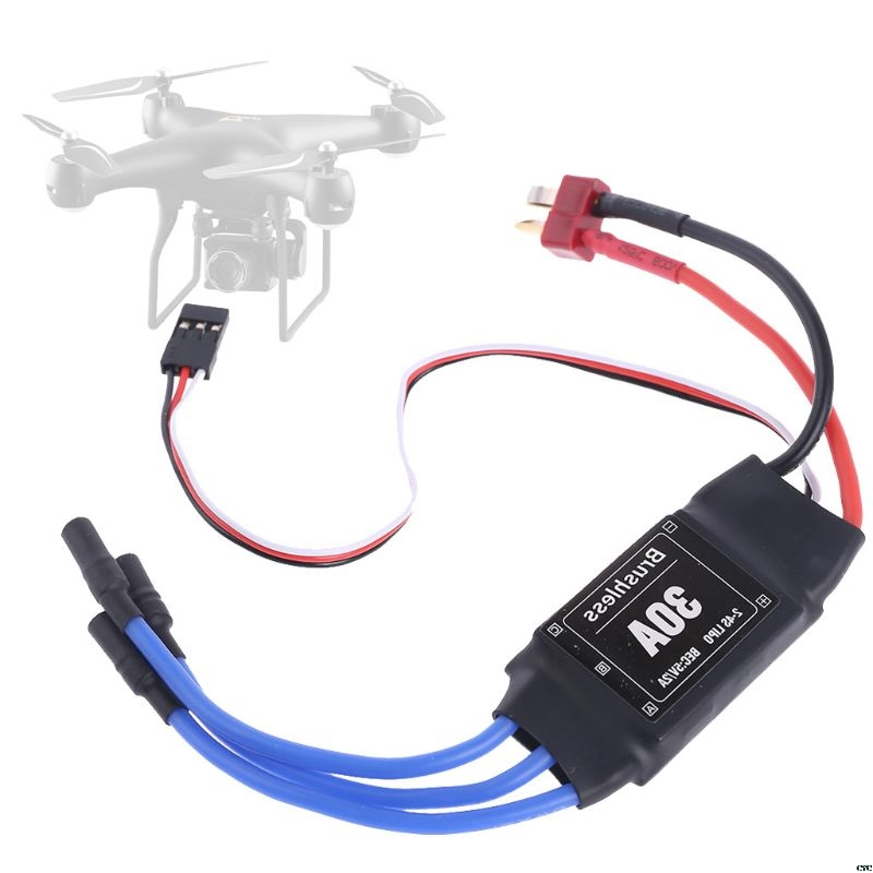 Rc 30A Brushless Motor ESC 2-4S Electric Speed Controller with 5V 2A BEC For Rc