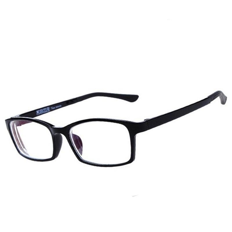 2016 New Driving Reading Glasses For Men Women Black Coat Film Ultralight Frame Reading Myopia Glasses Dioptre With Box