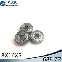 688ZZ Bearing 8*16*5 mm ABEC-5 10PCS Miniature 3D Printer Heatbed 688 Z ZZ Ball Bearings 688Z