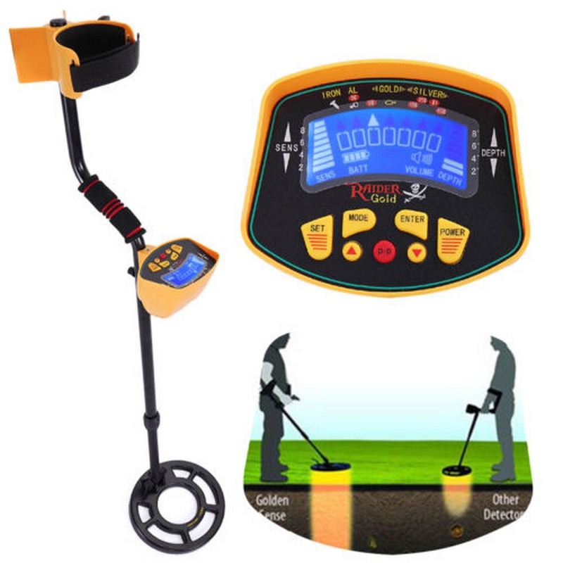 <font><b>MD</b></font>-<font><b>3010</b></font> Metal Detector Adjustable Sensitive Underground Gold Probe Treasure Tracker Seeker Gold Digger Metal Detector image