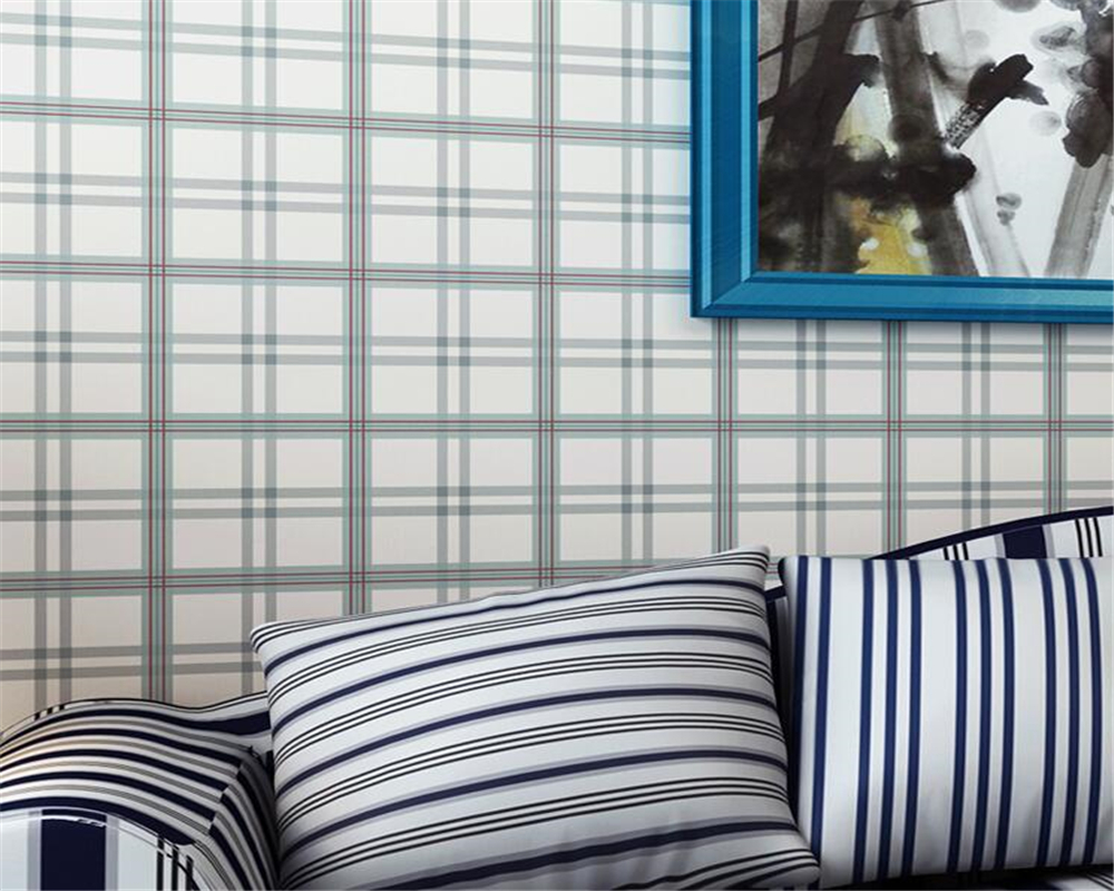 Beibehang Modern Stylish Plaid Mosaic Wallpaper Home Decor Living Room  Bedroom Background Walls Decoration 3d Wallpaper Roll In Wallpapers From  Home ...