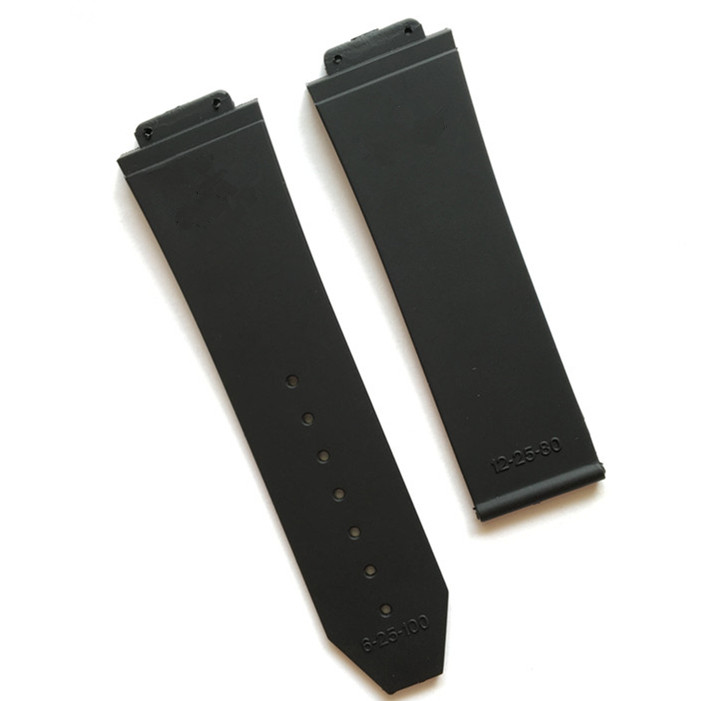 4f3afe66af0 Relógio acessórios de Silicone Strap Para Homens Pulseiras de Relógio Hublot  para BIG BANG 25 17mm Cinto faixa de relógio com logotipo fivela de aço ...