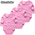3pcs/Lot 100% Cotton Baby Rompers 0-12Months Long Sleeve Baby Wear Infant Jumpsuit Boys Girls Clothes Roupas De Bebe Infantil