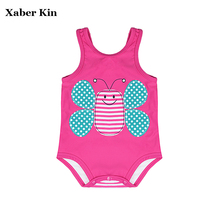 Baby Swimsuit New 2017 Summer Baby Girls Swimsuit Children Swimwear Kids One Piece Swimming Suit Beachwear G1-SW613