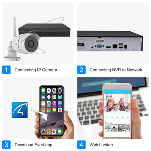 Image 3 - Vstarcam 8CH NVR +4 C17S 1080P Waterproof IP Camera NVR Kits CCTV Surveillance System Kits Video Recorder Home Security Camera