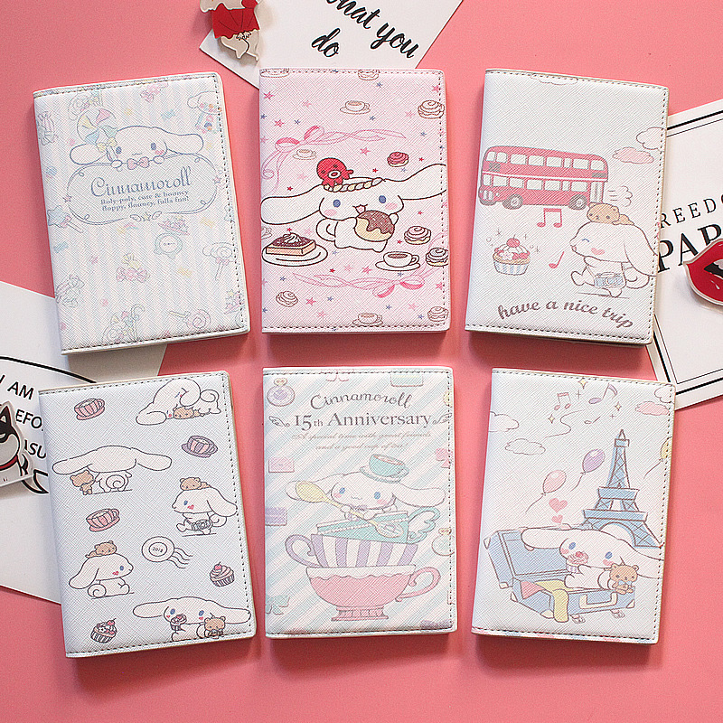Cute Cartoon Design Women Passport Cover High Quality Travel Business Passport Holder Card ID Holders Passport Package