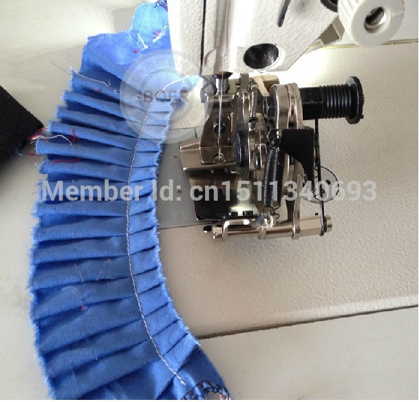 G900E Flat Pleated Four Needle Needle Fold 8 Fold Crease For Industrial Sewing Machine