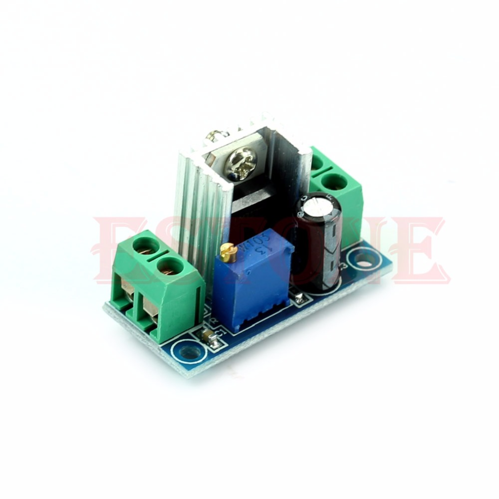 J34 Free Shipping New Converter Buck DC-DC Linear Step Down Low Ripple Module Power Supply LM317
