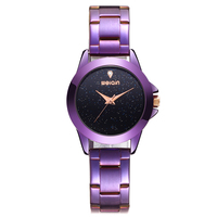 WEIQIN Starry Universe Rhinestone Watches Women Top Brand Luxury Steel Waterproof Watch Ladies Quartz Wristwatch reloj mujer