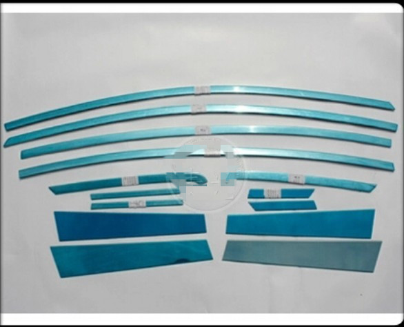 High quality stainless steel Car window trim strip(22 pcs) ,car covers/drw Free shipping ,2012-2013 K3 4dr stainless steel full window trim decoration strips for ford focus sedan 2012 2015 car styling high quality chrome stickers trim